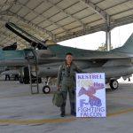 """""""Kestrel"""" Capai 1.000 Jam Terbang di Pesawat F-16"""