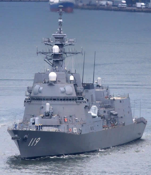 Kapal Perusak Terbaru Jepang Lakukan Uji Laut