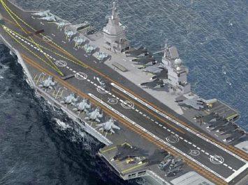 Kapal induk Rusia Shtorm akan dilengkapi sistem pertahanan udara S-500