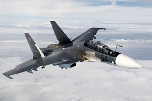 Distrik Militer Barat Rusia Kini Dibekali 2 Su-30SM