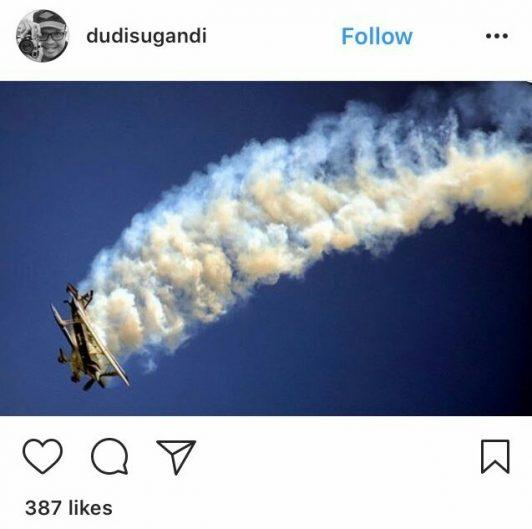 Foto-foto Indah Penerbang Aerobatik Senior di BAS 2017 Berhasil Diabadikan