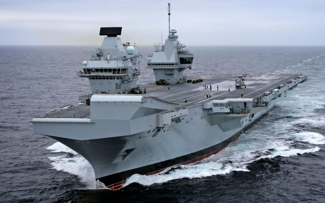 Kapal Induk Terbaru AL Inggris Siap Beroperasi Bulan Depan