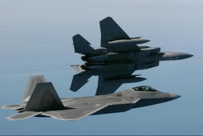 Didampingi F-15C, Angkatan Udara AS Mulai Kerahkan F-35 ke Pasifik