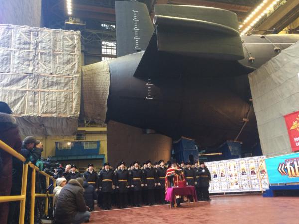 Ini Penampakan Perubahan Desain Kapal Selam Terbaru Rusia