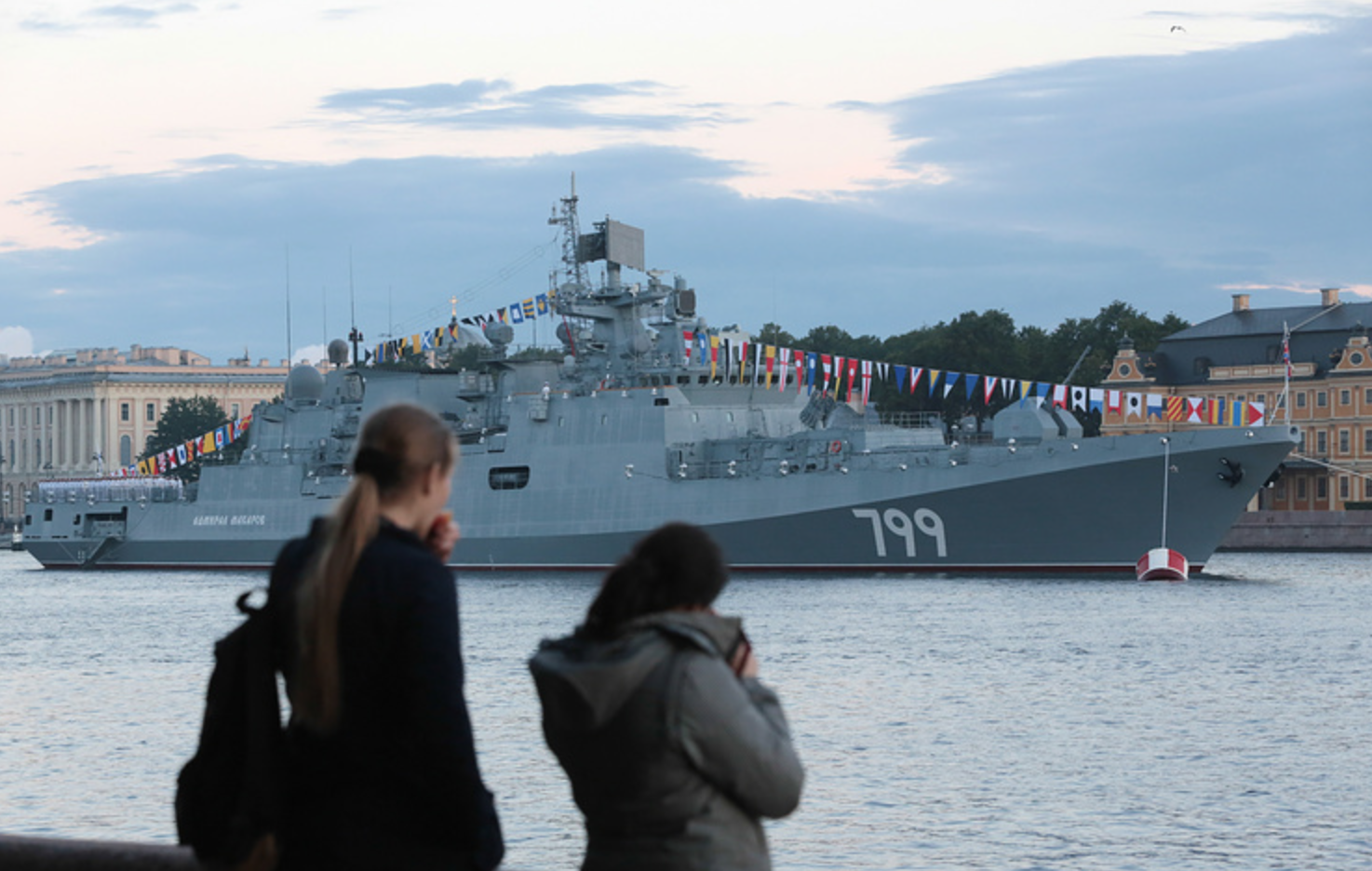 Perkuat Armada Laut Hitam, Kemhan Rusia Terima Fregat Admiral Makarov
