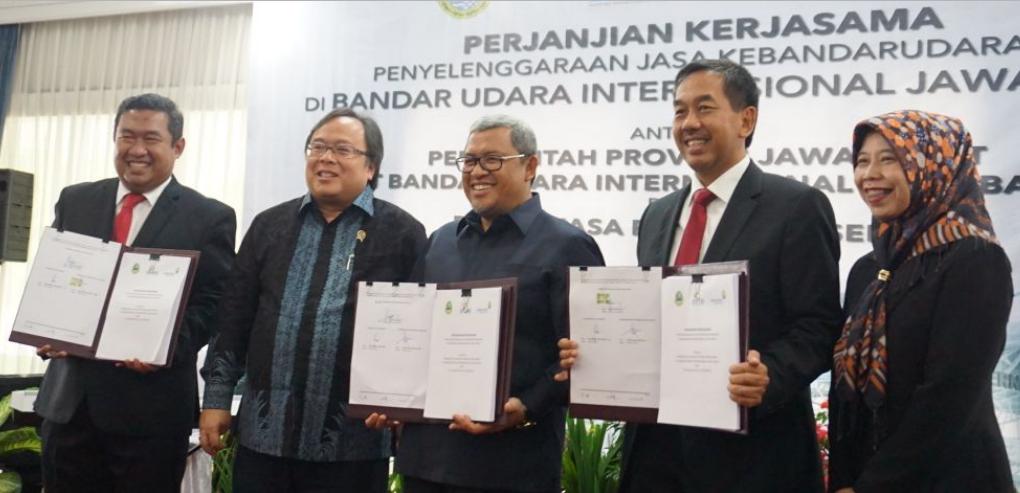 AP II Resmi Kelola Jasa Kebandarudaraan Bandara Internasional Jawa Barat