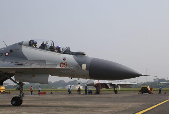 2 Su-30 Merapat ke Iswahjudi, Dukung Kegiatan Penerbang Skadron Udara 14