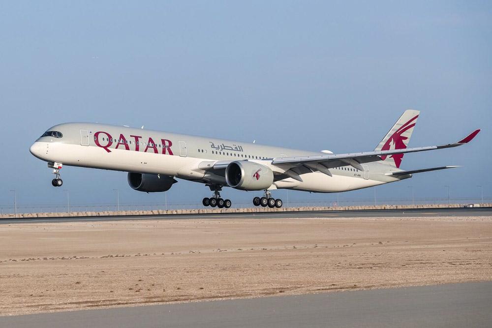 Airbus Serahkan Pesawat A350-1000 Pertama Kepada Qatar Airways