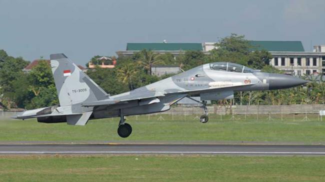 Lettu Pnb Ahmad Finandika Berhasil Terbang Solo Menggunakan Su-30MK2
