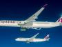 Qatar Airways Operasikan A350-1000 Pertama di Rute Doha-London