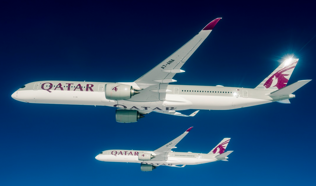 Qatar Airways Operasikan A350-1000 Pertama di Rute Doha-London