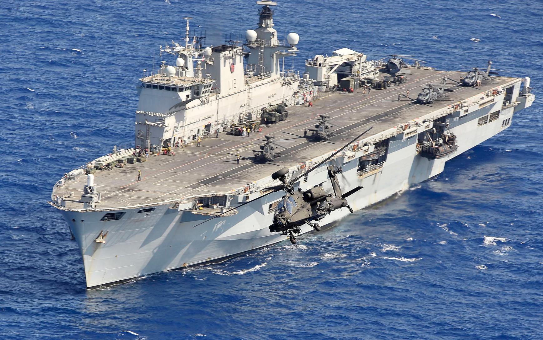 Brazil Beli HMS Ocean, Kapal Serbu Amfibi Bekas AL Inggris