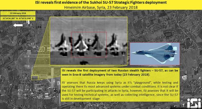 Satelit Israel Pastikan Su-57 'Nongkrong' di Pangkalan Udara Khmeimim Suriah