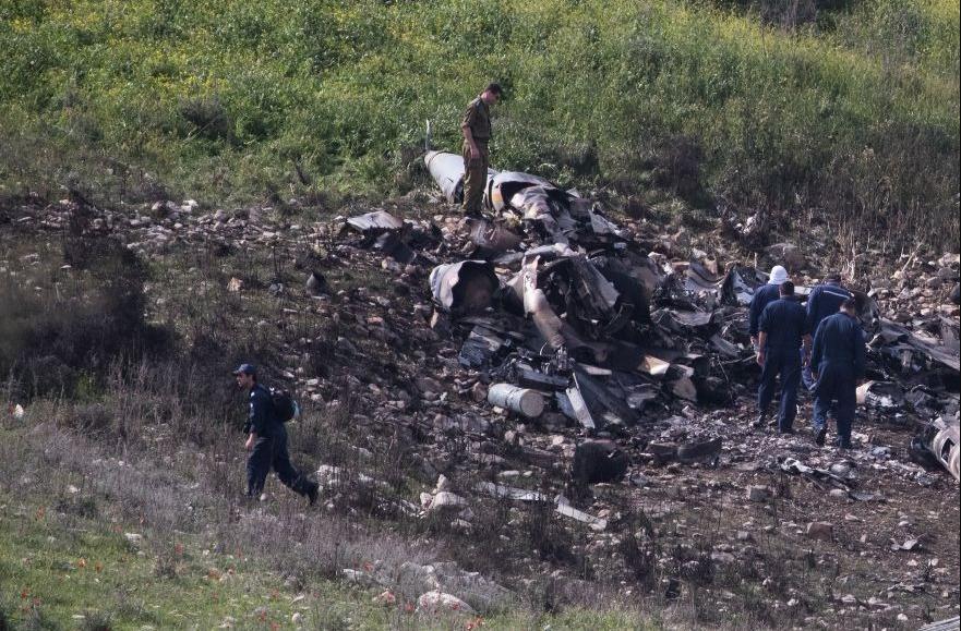 Investigasi AU Israel: Kesalahan Pilot Sebab F-16 Israel Ditembak Jatuh