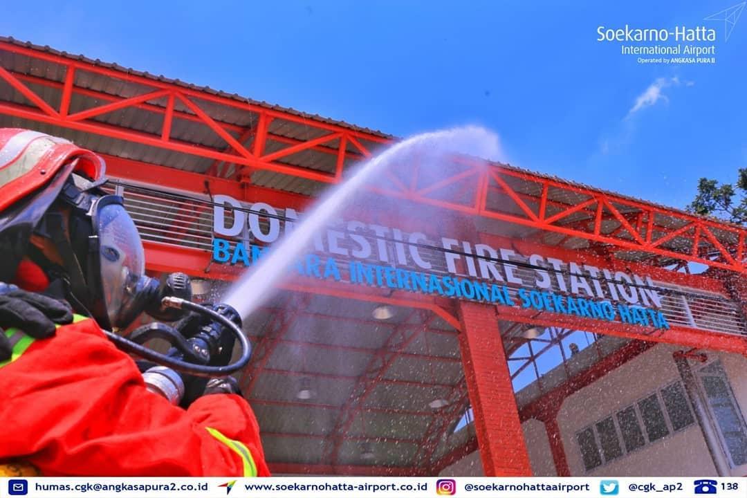 Soekarno Hatta Buka Domestic Fire Station Terpadu