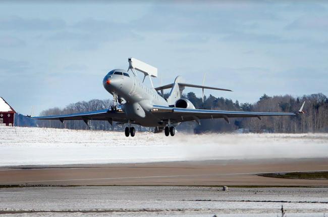 Selamat untuk Saab, GlobalEye Sukses Terbang Perdana