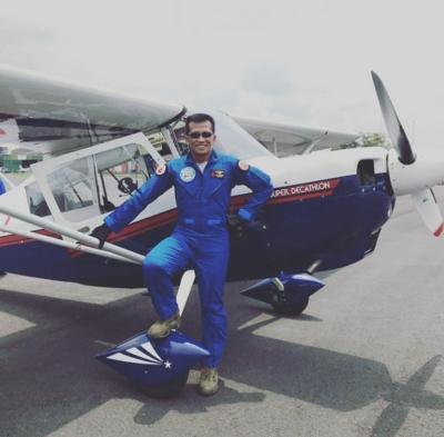 """Haru Biru, Penerbang Aerobatik """"Elang Biru"""" TNI AU Gugur"""