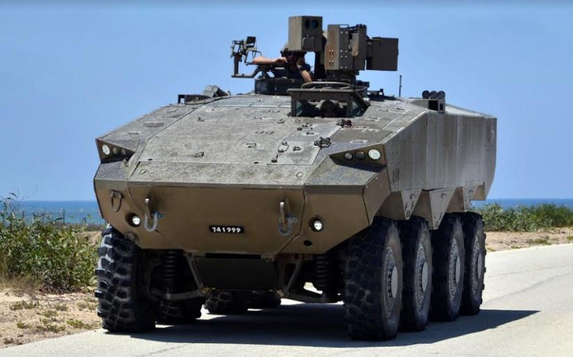 Panser Eitan Resmi Dipesan Kemhan Israel Untuk Gantikan M113 APC