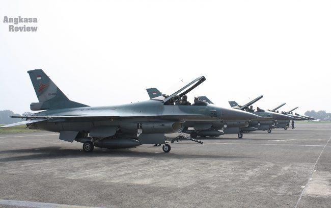 Gemuruh Jet F-16 di Langit Jakarta, Kosekhanudnas I Gelar Hanud Cakra A/18