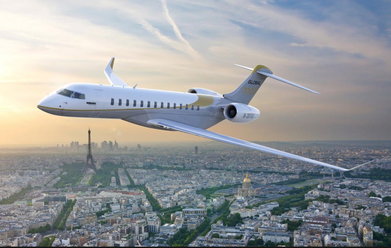 Bombardier Umumkan Global 7000 sebagai Jet Pribadi Perambah Jarak Terjauh