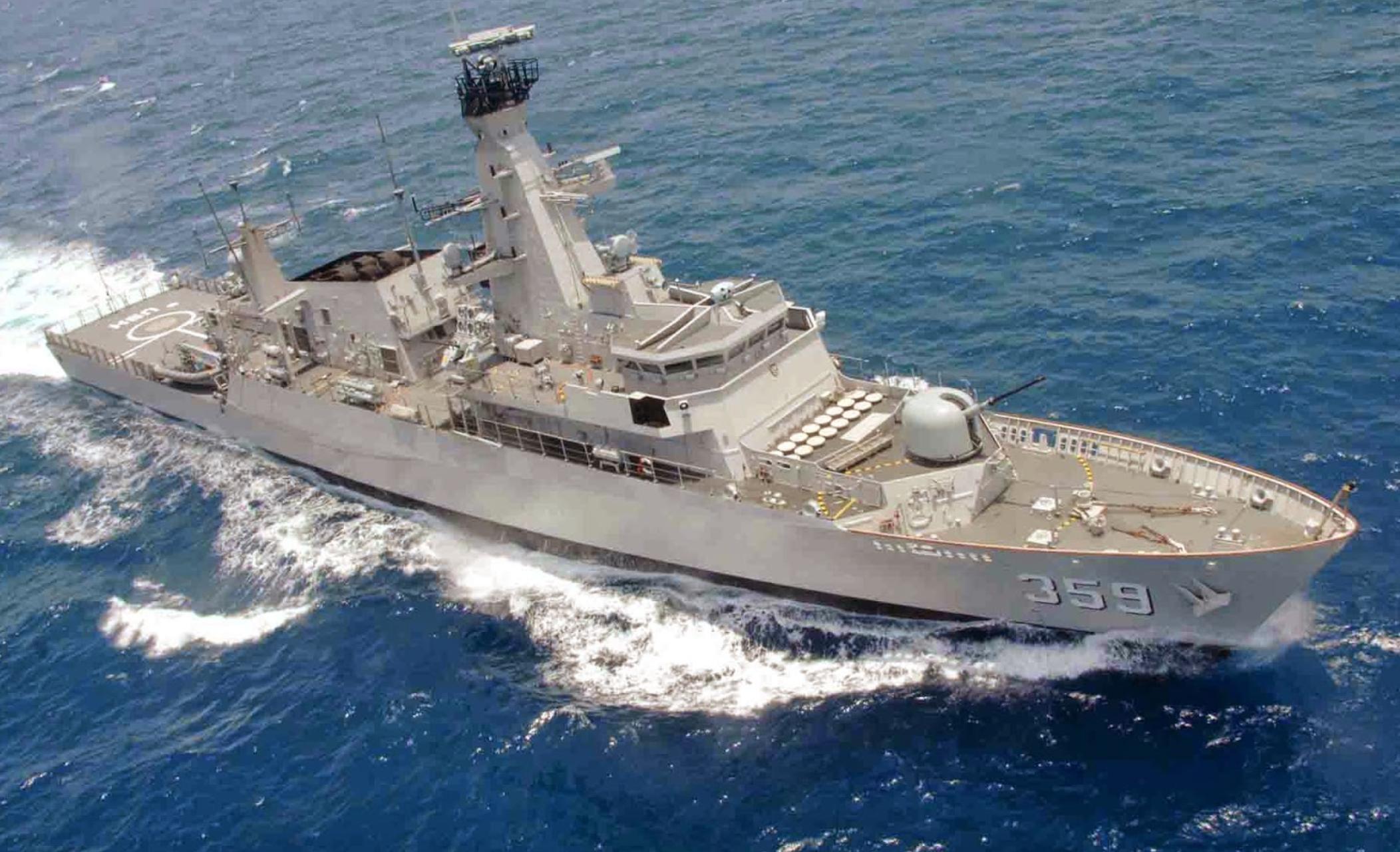KRI Usman-Harun -359 Latihan dengan Kapal Jerman di Laut Mediterania