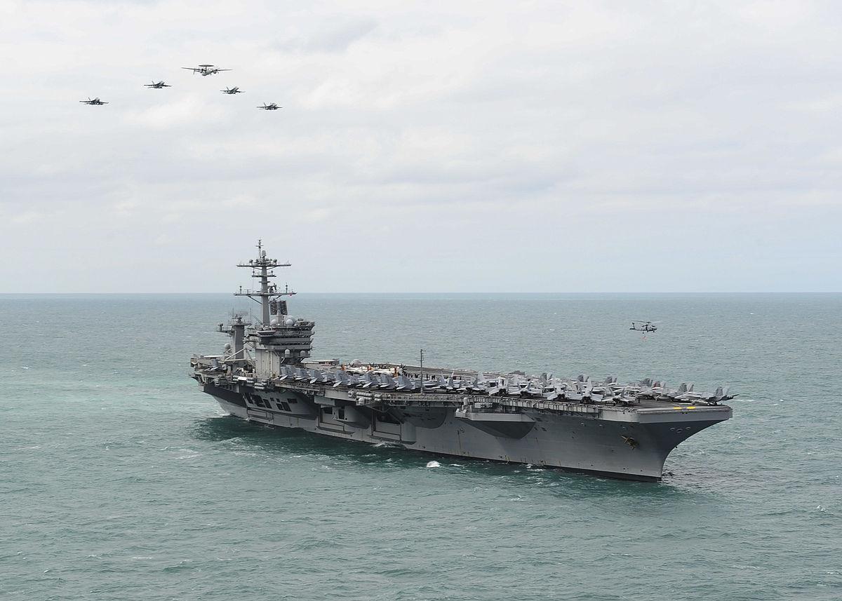 Tiongkok Pamer Kekuatan di Laut China Selatan, AS Kirim USS Theodore Roosevelt