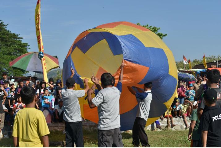 Antisipasi Pelepasan Balon Udara, OBU Wil III Gelar Sosialisasi Keselamatan Penerbangan ke Masyarakat Ponorogo