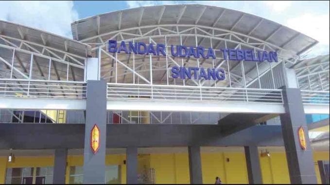 Berpotensi Kembangkan Ekonomi di Sintang, Bandara Tebelian Siap Gantikan Bandara Susilo