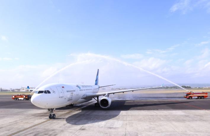 Kolaborasi Garuda Indonesia - Sriwijaya Air untuk Perluas Pasar