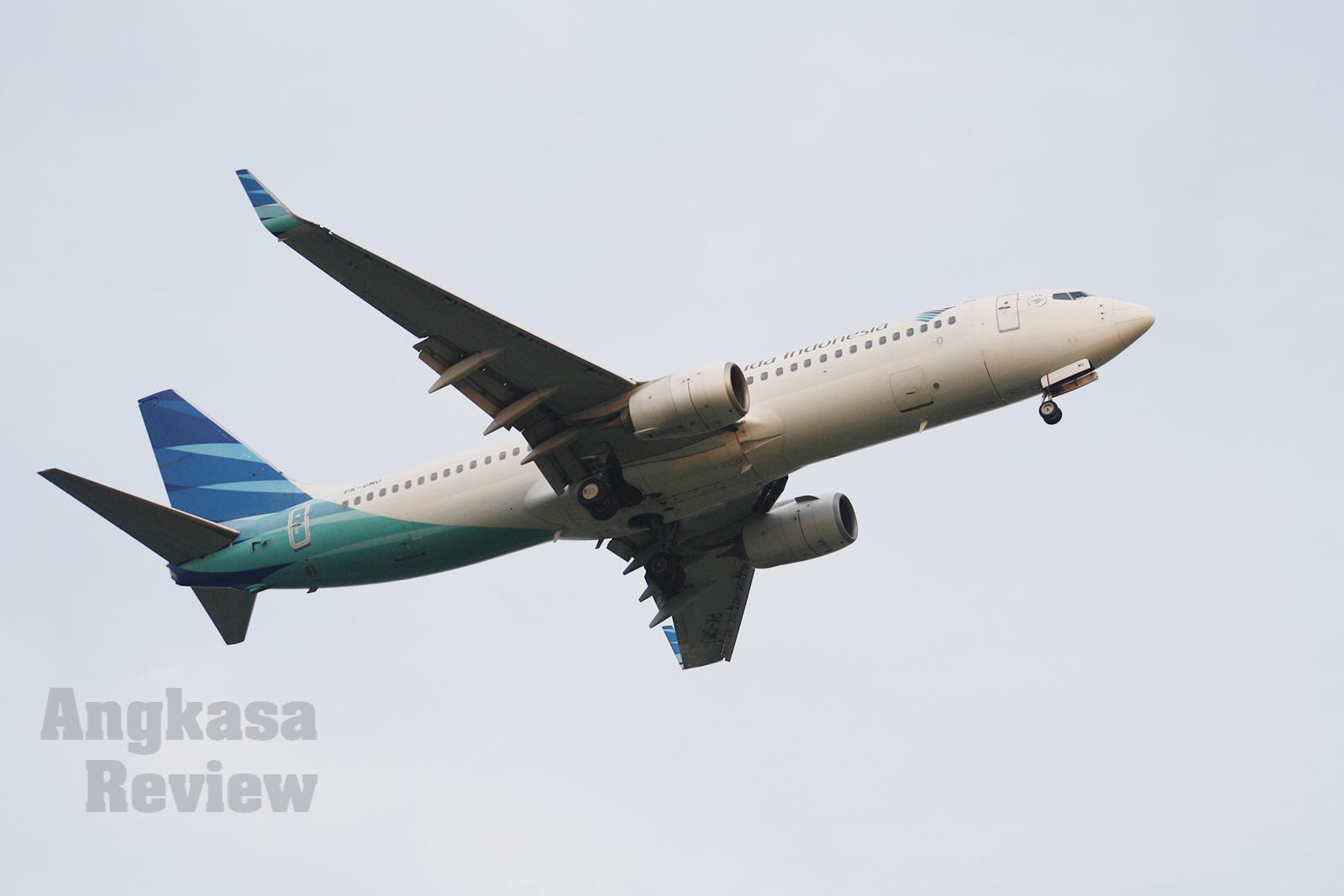 Erupsi Gunung Merapi: Garuda Batalkan 14 Penerbangan dari dan ke Yogyakarta