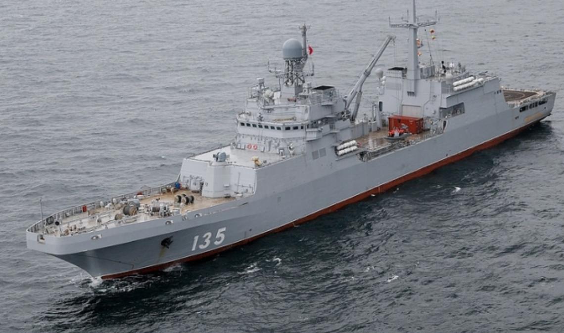Kapal Serbu Amfibi Terbaru Ivan Gren - 135 Tuntaskan Pengujian Negara