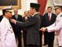 Presiden Joko Widodo Lantik Laksdya TNI Siwi Sukma Adji Jadi KSAL