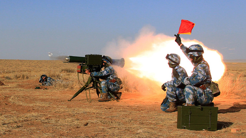 USAF Keluhkan Penggunaan Laser Oleh China di Pangkalan Djibouti