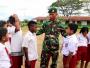 "Satgas Yonif Raider 323 Kostrad Rilis Film Pendek ""Senyum Pancasila di Ujung Timur Indonesia"""