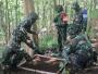 Tingkatkan Profesionalisme, Prajurit Yonif Para Raider 503 Kostrad Jalani Latihan Uji Siap Tempur