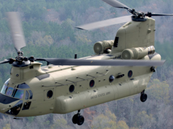 CH-47F Chinook - Boeing - Angkasa Review