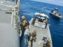 Kerahkan KRI Usman Harun, Satgas MTF TNI Konga XXVIII-J/UNIFIL Latih Tim VBSS LAF Navy di Laut Mediterania