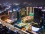 Ditinggal Pemudik, Ini Foto-foto Sepinya Jakarta Bergelimang Cahaya di Malam Hari