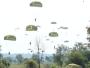 Dari Lanud ADB Saleh, Ratusan Yonif Para Raider 503 Kostrad Jungar di Puslatpur Marinir