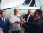 Disaksikan Ryamizard, Dua Unit NC212i dari PTDI Diserahterimakan ke AU Filipina