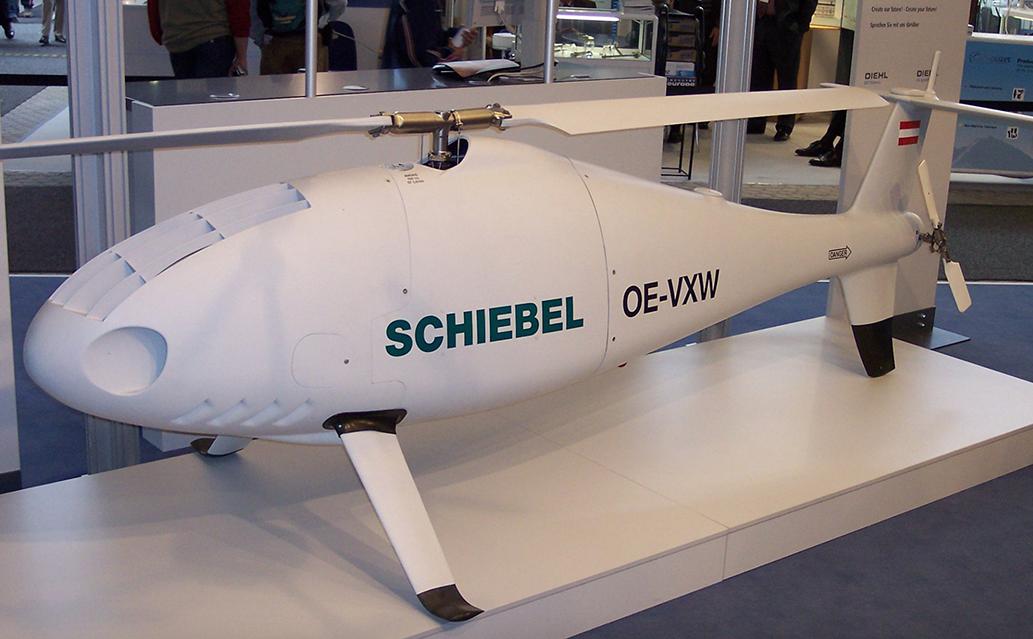 AL Belgia Kepincut Performa Heli Nirawak Camcopter S-100