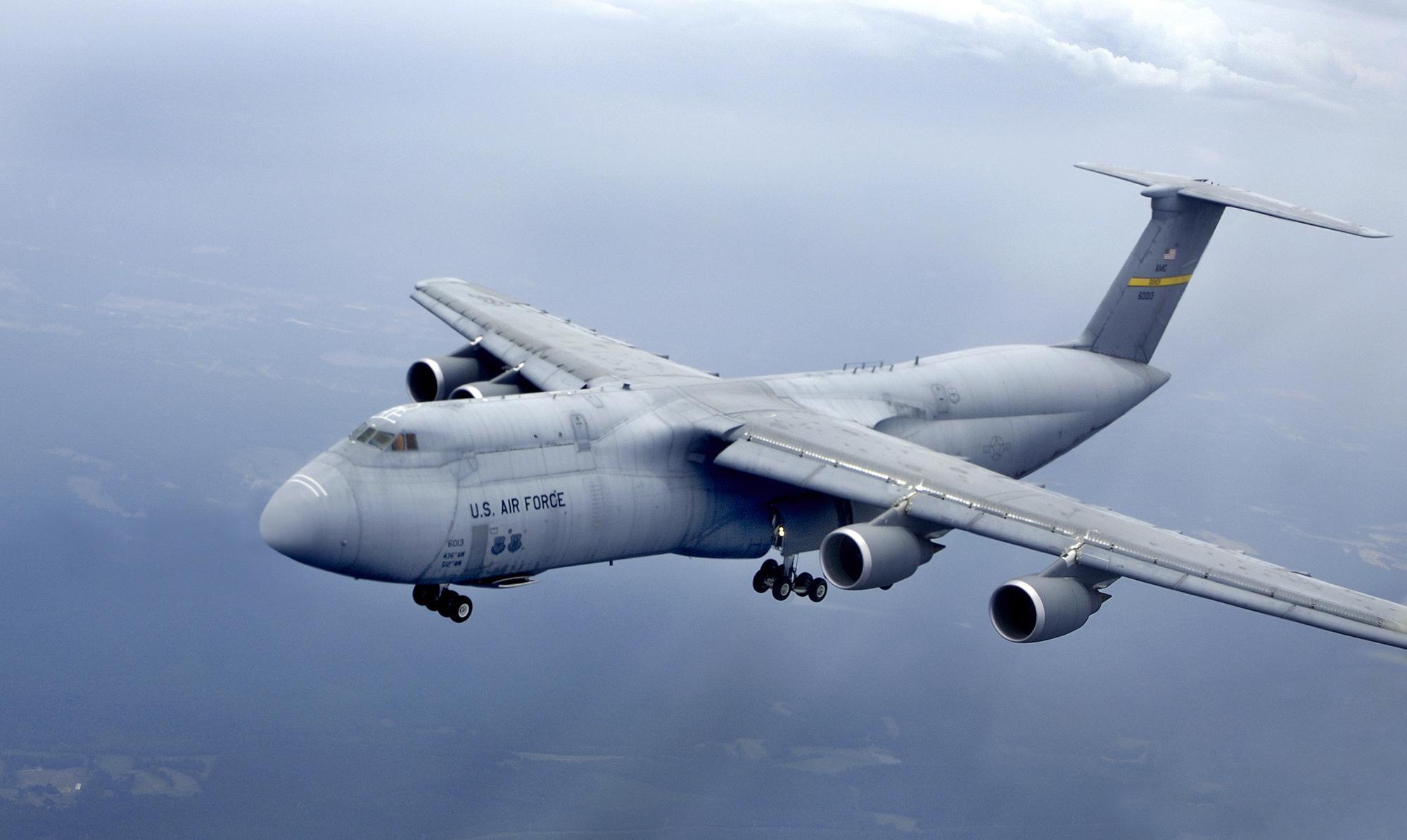 USAF Habiskan USD 10.000 untuk 1 Unit Penutup Toilet C-5 Galaxy