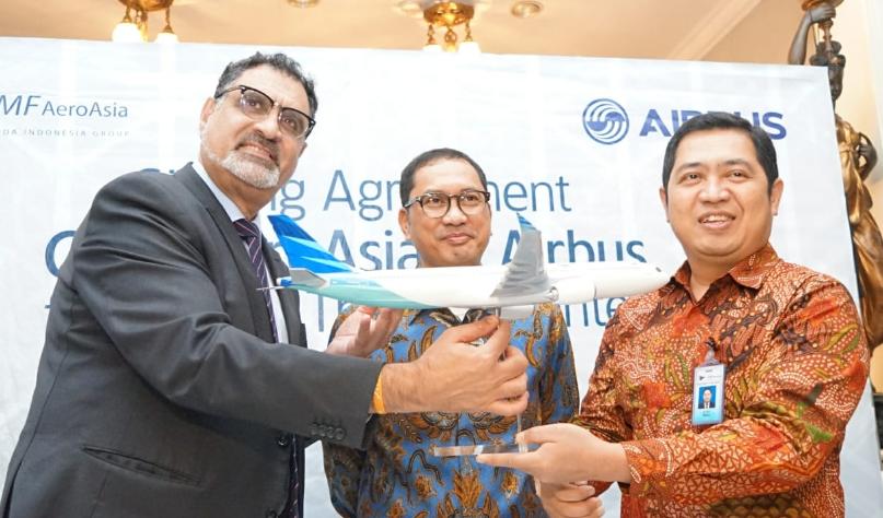 GMF Perpanjang Kontrak Kerja Sama Training Center dengan Airbus