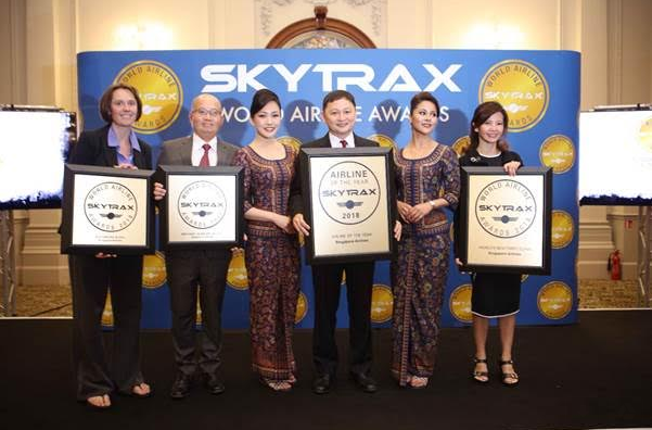 Singapore Airlines Raih Predikat World's Best Airline dari Skytrax