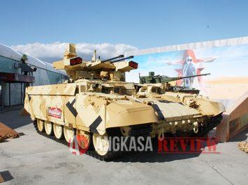 Divisi Tank Ural Distrik Militer Pusat Rusia mulai menguji BMPT Terminator