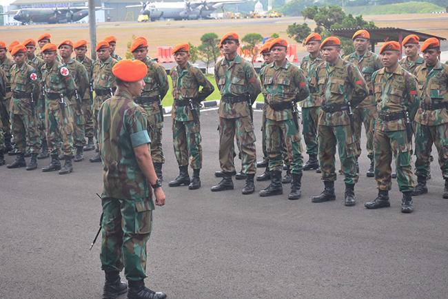 Diangkut C-130 Hercules A-1315, 100 Personel Korpaskhas Diberangkatkan ke Lombok