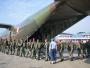 Diangkut C-130 Hercules A-1317, Pasukan Marinir Diterbangkan ke Lombok