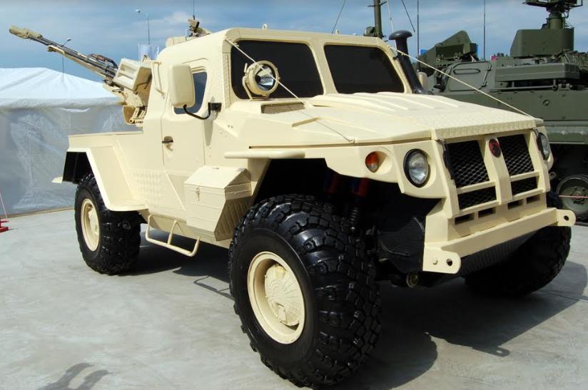 PEMZ Spetsmash Tawarkan SAMUM, Ranpur Pengusung Kanon Serbaguna ZU-23M1