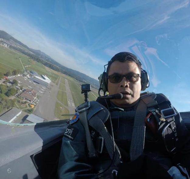 Aerobatik di Swiss