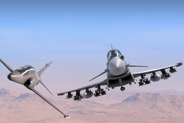 Pengadaan 24 Typhoon dan 9 Hawk AJT untuk Qatar Berjalan Lancar